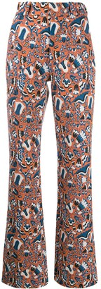 La DoubleJ Extra Long Flared Trousers