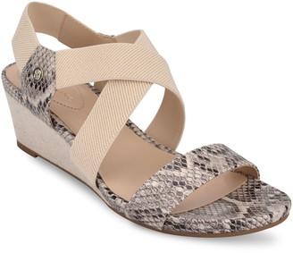 Bandolino Pull On Wedge Sandals - Isadora