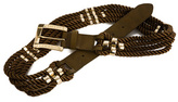 Armani Exchange Multi Rope Belt