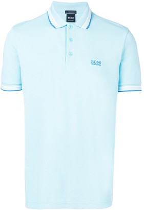 HUGO BOSS Trimmed Polo Shirt
