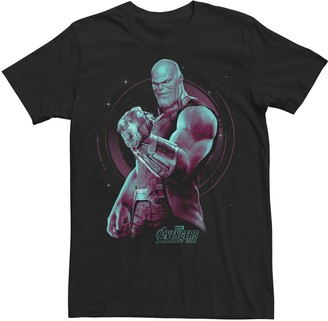 Men's Marvel Avengers Infinity War Thanos Mad Titan Graphic Tee