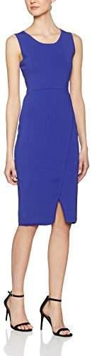 J. Lindeberg Women's Muriel Sharp Knit Dress, (dk Blue/Purple), 8 (Size:Small)