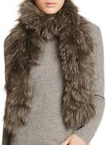 Jocelyn Fox Fur Convertible Scarf