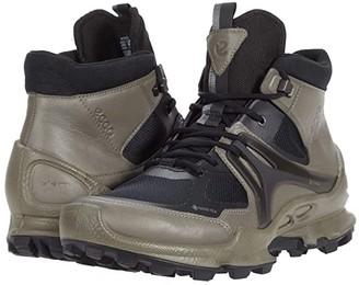 ECCO Sport BIOM C-Trail GORE-TEX(r) (Warm Grey/Black) Men's Shoes