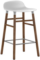 Normann Copenhagen Form Barstool - Walnut - White