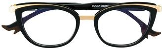 Face à Face Metallic Cat-Eye Glasses