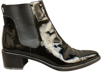 Fratelli Rossetti Black Patent leather Ankle boots