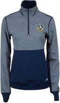 adidas Women's LA Galaxy Quarter-Zip Climalite Jacket