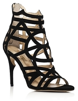 Jerome C. Rousseau Greco Caged High Heel Sandals