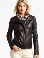 Talbots Leather Jacket