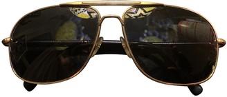 Mykita Blue Metal Sunglasses