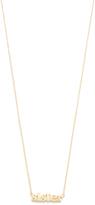 Jennifer Meyer Jewelry 18k Gold Sister Necklace
