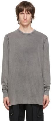 11 By Boris Bidjan Saberi Grey Acid Long Sleeve T-Shirt
