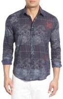 Vilebrequin Regular Fit Sonar Print Sport Shirt