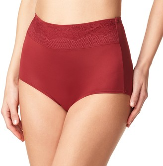 Warner's Women's No Pinching. No Problems. Lace Brief Panty RS7401P