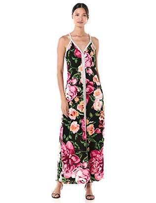 MSK Women's Maxi Dress with Center Trim