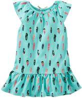 Osh Kosh Toddler Girl Print Ruffle-Hem Tunic