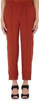 Marni Women's Reverse Charmeuse Elastic-Waist Pants-RED