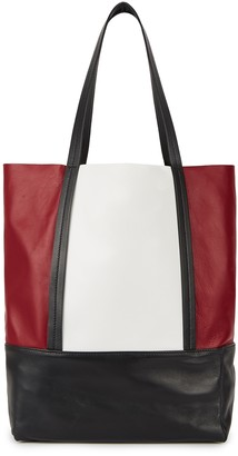 Plan C Panelled leather tote