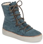 Blackstone Women's Ol26 Genuine Shearling Lined Lace-Up Bootie