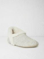White Stuff Grey navajo slipper
