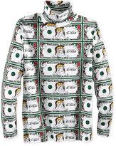 American Rag Men's Santa Bills Turtleneck Shirt, Only at Macy's