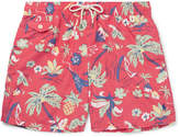Polo Ralph Lauren Mid-Length Printed Shell Swim Shorts