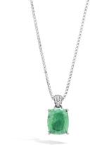 John Hardy Magic Cut Pendant with Emerald and Diamonds