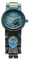 Lego Ninjago Hands of Time Nya Kids Minifigure Link Buildable Watch | blue/black| plastic | 28mm case diameter| analogue quartz | boy girl | official