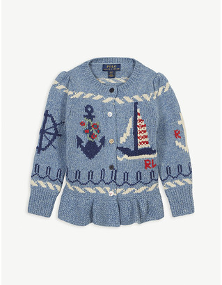 Ralph Lauren Nautical cotton cardigan 2-6 years
