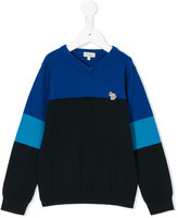 Paul Smith colour-block knitted sweater