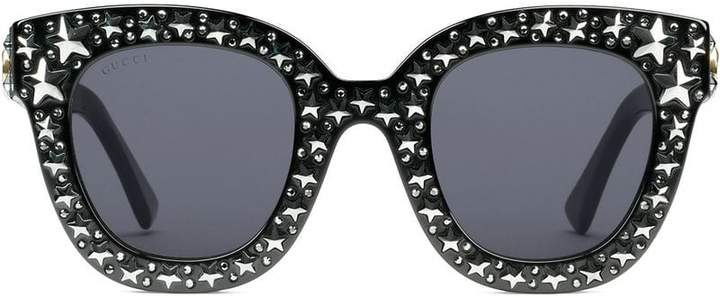 b9e31b83a1b Gucci Star Sunglasses - ShopStyle