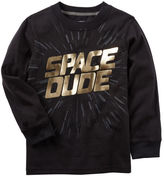 Carter's Long-Sleeve Space Dude Graphic Tee