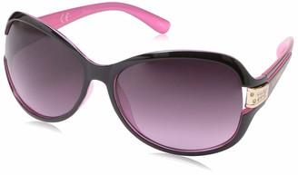 Southpole Women's 1028sp Oxpk Non-Polarized Iridium Round Sunglasses