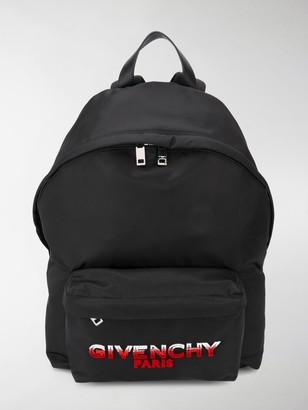 Givenchy Logo Patch Backpack