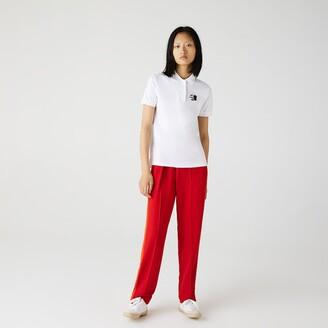 Lacoste Women's Regular Fit Cotton Pique Polo Shirt