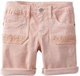 Mudd Girls 7-16 Crochet Pocket Shorts