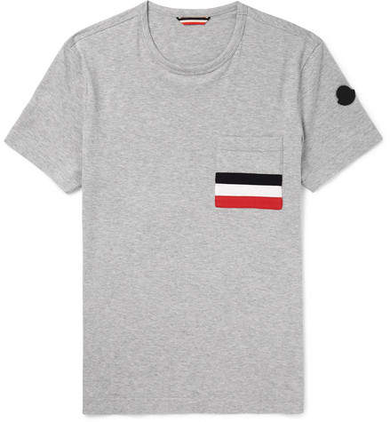 Moncler Slim-Fit Cotton-Jersey T-Shirt