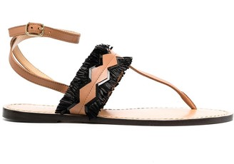 Tila March Portofino tasseled sandals