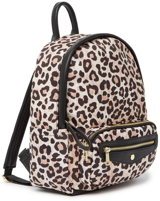 Madden-Girl Leopard Print Backpack