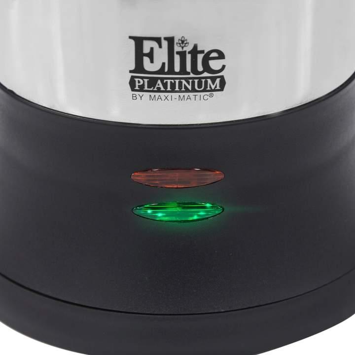 Elite Platinum Stainless Steel 12-Cup Electric Percolator