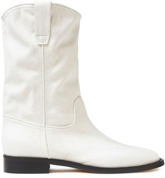 Alberta Ferretti Faux Suede Boots