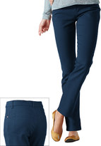 Gloria Vanderbilt Petite Amanda Color Tapered Twill Pants