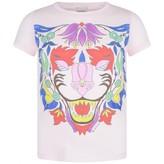 Gucci GUCCIGirls Pink Floral Tiger Print Top