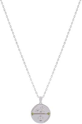 Cvlcha Leo Zodiac Necklace - Silver