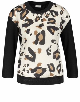 Gerry Weber Women's 270259-35059 Long Sleeve Top