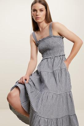 Seed Heritage Gingham Midi Dress