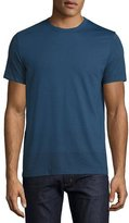 Theory Gaskell Gated-Stripe T-Shirt, Blue