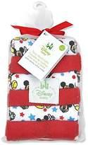 Disney Mickey Mouse Terrycloth Washcloths