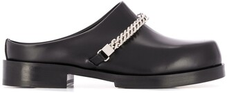 Alyx chain-detail chunky mules